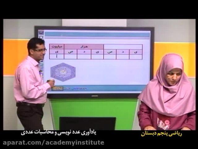 آموزش ریاضی پنجم دبستان