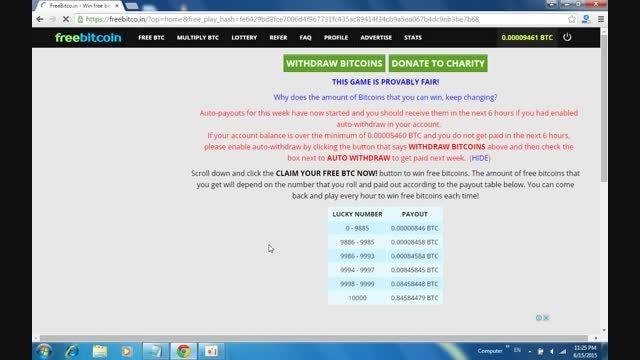 کسب درامد اینترنتی بیت کوین.آموزش کار با سایت freebitco
