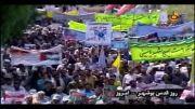 حضور پر شور بوشهری ها در راهپیمایی روز قدس 93