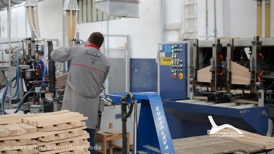 تولید و فروش صندلی اداری چوبی