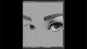 نقاشی پرتره زیبای ادری هپبورن