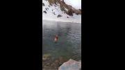 شنا در دریاچه ساوالان