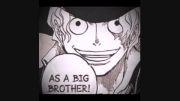 به عنوان یه برادر بزرگتر-as a big brother-وان پیس
