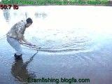 ماهیگیری در دریاچه اوان صید کپور