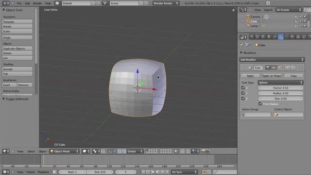 ۰۵ − سری آموزشی مدلینگ در Blender از CGCookie