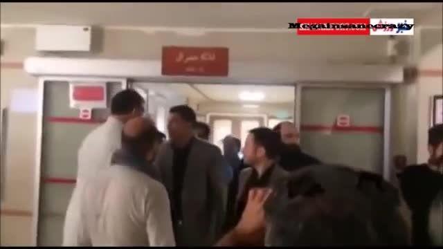 عیادت علی دایی از مرتضی پاشایی قبل از درگذشت