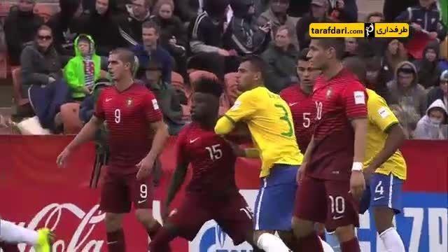 خلاصه برزیل 0(3)-(1)0 پرتغال (جام جهانی زیر 20 سال)