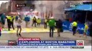 گزارش CNN از انفجار تروریستی بوستون