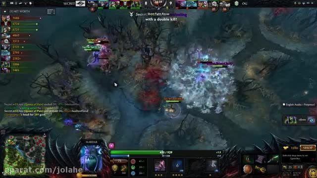 OG vs. Secret Game 2 Highlights Dota 2