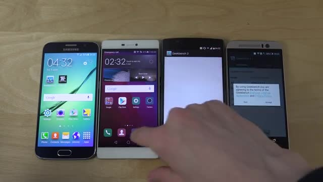 مقایسه Galaxy S6 vs. Huawei P8 vs. LG G4 vs. HTC one m9