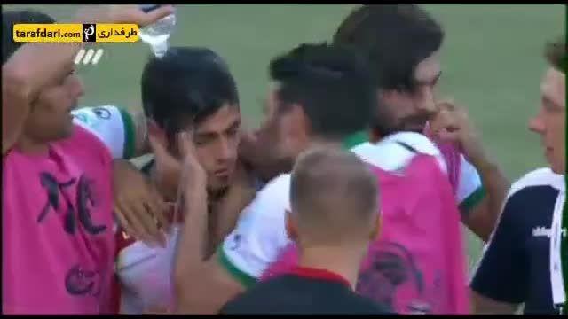 وقتی فردوسی پور از پور علی گنجی در مورد پیراهن بازی