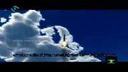 فیلم شبیه سازی حمله موشکی ایران به اسراییل