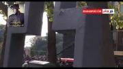 روضه پدر مرتضی پاشایی در مراسم تشییع پیکر پاشایی