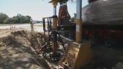 انتقال درخت 150 سالۀ بلوط - جابجایی ها بزرگ