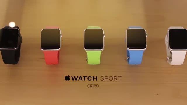 Apple Watch Sport Color Comparison