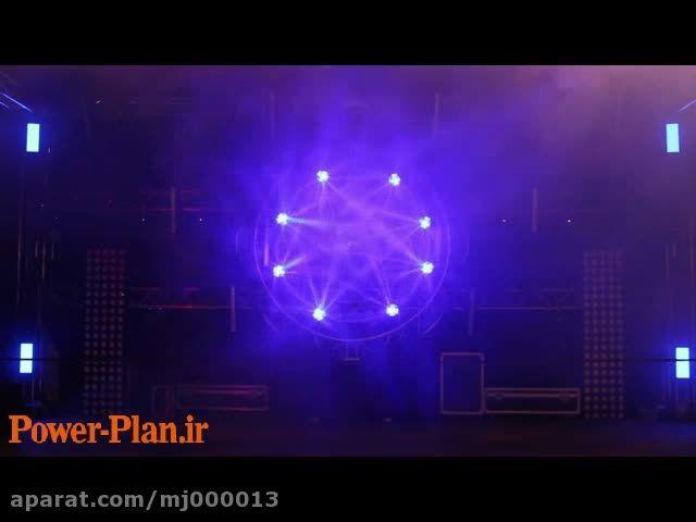 کلیپ 2-رقص نور جالب لیزری هماهنگ با موزیک