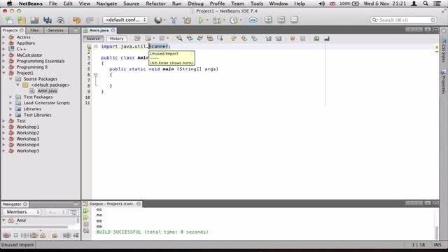 ۶- گرفتن داده از کاربر در جاوا Java