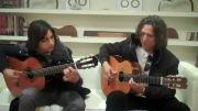 گیتار نوازی بسیار زیبا...گیتار فلامینکو..