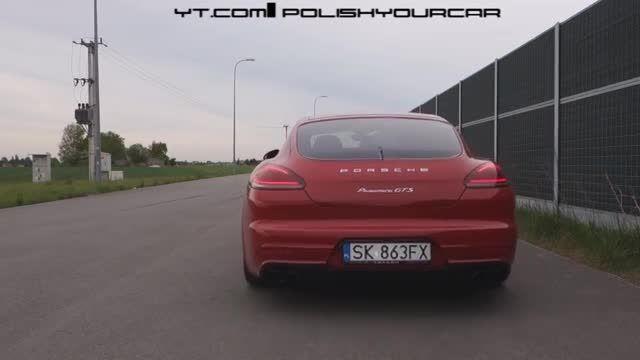 Porsche Panamera GTS 2015 Launch Control Sound