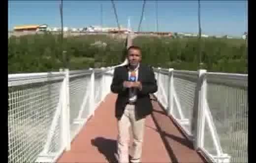 افتتاح پل معلق مشکین شهر، بزرگترین پل معلق خاورمیانه 2