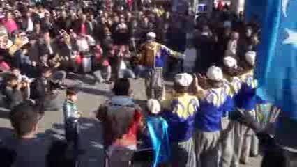 آهنگ و رقص شاد ترکی سوریه ای ♫♫♫-ترکمن های سوریه(حلب)