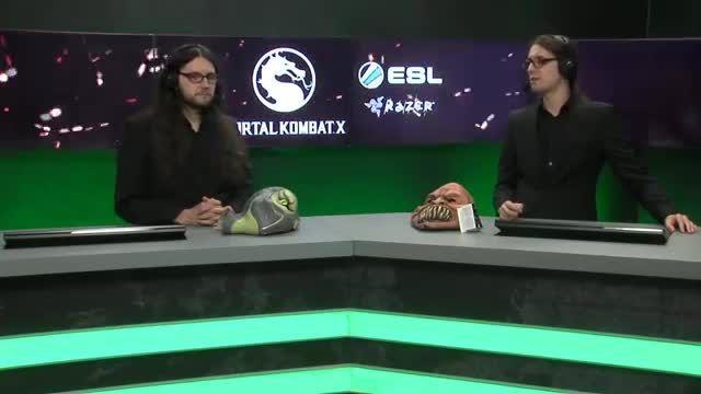 MKX Fight - SubZero vs KungLao