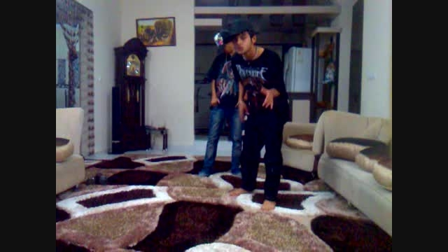 رقص دو پسر 15 ساله با آهنگ رقص هیپ هاپ علی مجیک ام جی