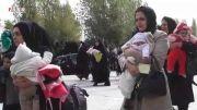 گزارشی زیبا از همایش شیرخوارگان حسینی