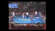 مبارزه ووشو ساندا و موی تای (با پیروزی مقتدرانه ساندا)