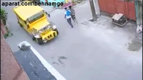 حادثه دردناک برای پسربچه...!