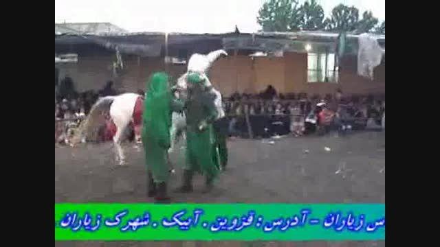 حضرت عباس محسن گیوه کش به همراه استاد مشایخی نصرت آباد