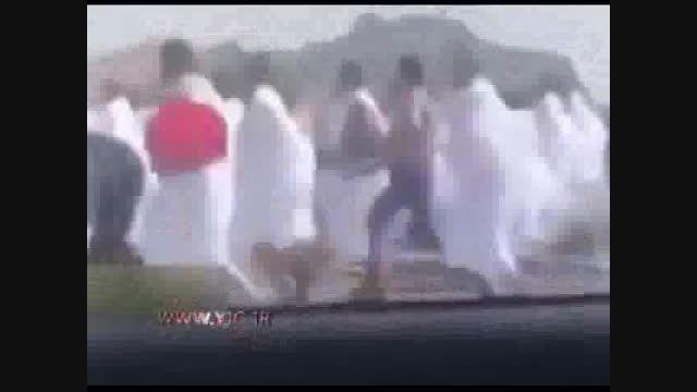 ربودن حجاج توسط شرطه های سعودی!!!