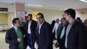 بازدید وزیر بهداشت و درمان از بیمارستان های شهریار