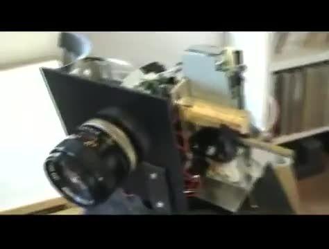 ساخت دوربین ۱۳۰مگاپیکسلی با یک اسکنر معمولی و لنز قدیمی