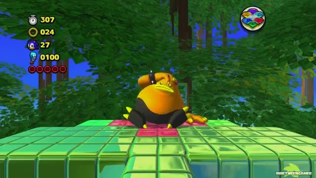 (Sonic Lost World Boss Fights (The Deadly Six