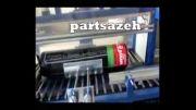 دستگاه اتومات رولهای ایزوگام-فرش-پارچه ورولهای پشم شیشه