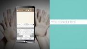 ویدیو Smart Tips تلفن جی 3 ال جی - Smart Keyboard