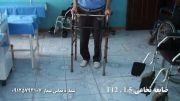 درمان ضایعه نخاعی با طب سوزنی (آقای خانی)