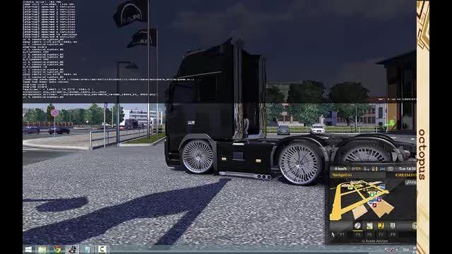 آموزش انواع دستورات کنسول بازی Euro Truck Simulator 2 آموزش انواع دستورات کنسول بازی Euro Truck Simulator 2