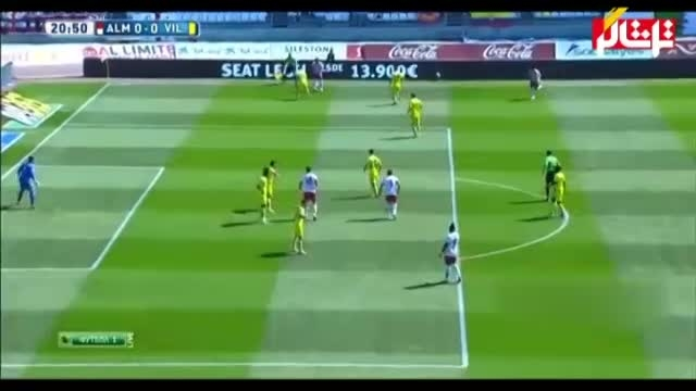 خلاصه بازی : آلمریا 0 - 0 ویارئال ( ویدیو )