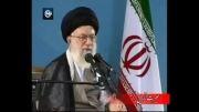 انتقاد شدید مقام معظم رهبری از دروغ اختلاف با احمدی نژاد