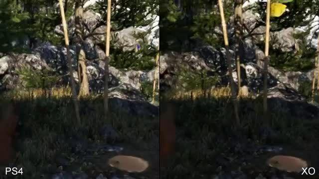 مقایسه گرافیک Far Cry 4 در X1 و PS4