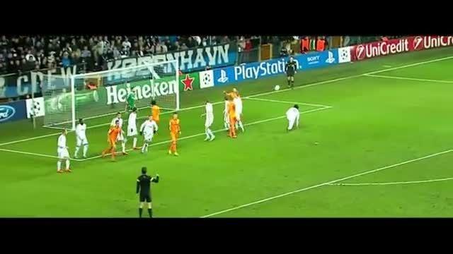 هایلایت بازی کریستیانو رونالدو مقابل کوپنهاگن (2013)