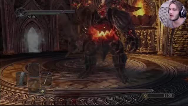 pewdiepie Dark Souls II Part 6