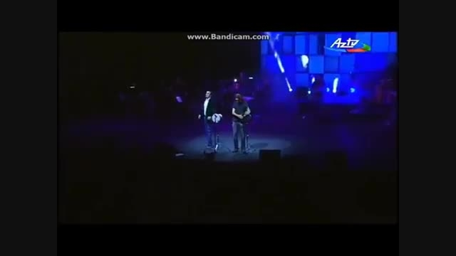 کنسرت مصطفی ججلی در باکو ♫♫♫آهنگ آذربایجانی تارکمانیم