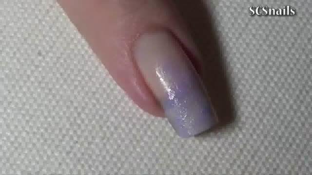 دیزاین طرح حباب روی ناخن
