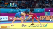کشتی: پیروزی مصطفی جوکار مقابل نماینده کره جنوبی
