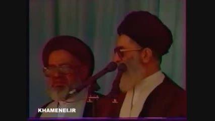 حضور رهبر انقلاب در حرم حضرت عبدالعظیم الحسنی