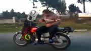 موتور سوار حرفه ای