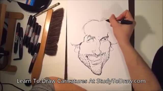 آموزش طراحی کاریکاتور 1